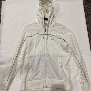 Hugo Boss white jacket
